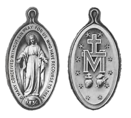 BVM Medals transparent